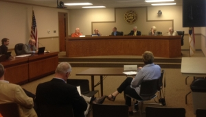 The Hamlet City Council met Tuesday for its October meeting.