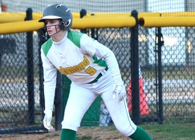 Freshman Taylor Young went 3-for-5 with a double in Richmond's win over Jack Britt Friday.