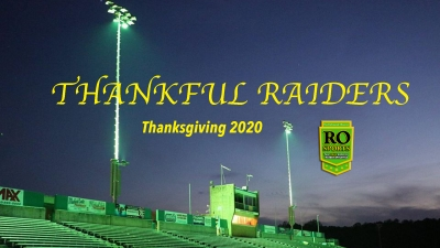 VIDEO: Thankful Raiders 2020