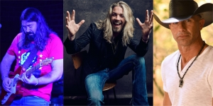 Jonathan Robinson and Bucky Covington will join Barry Brown and Bad Inc. for a free concert following a poker run next week in McBee, South Carolina.