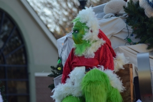 There were several Grinches on floats during the 2019 Christmas parade in Hamlet. This year's event has been canceled.