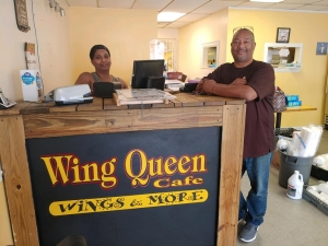 Carolyn and Deric Spencer, owners of Wing Queen in Rockingham, closed their restaurant last week, but will soon be operating a food truck.