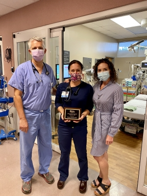 McCall honored with Advanced Practice Provider Award