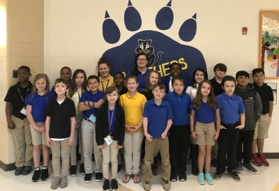 The pictured East Rockingham Elementary students made A Honor Roll for the third nine weeks of the school year. Front Row: Jack Thompson, Sofia Huerta, Caiden Singletary and Lauren Erney. Middle Row: Arlee Goodman, Kyrah Locklear, Anotonio Huerta, Ikema Smith, Madason Coward, Destiny Shepard, Shamakh Alshaif and Joshua Arnold. Back Row: Mason Harris, Caleb Powell Terry, Savannah Chance, Kinsie Lyerly, Julian Ingram, Jorja Moore, Robert Ammons, Andrew Ordonez and Martin Lopez. Not pictured: Amia Pegram.