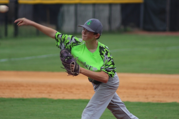 Rising freshman Brycen Goodwin threw four innings of relief to help Richmond defeat Pinecrest on Tuesday.