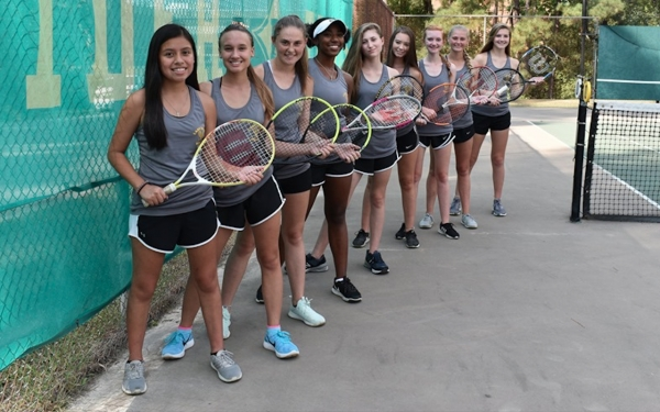 The 2019 Lady Raider tennis team earned four wins during a 'learning experience' for all nine players.