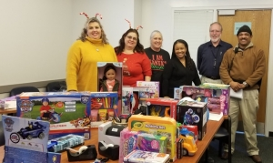 Inmates at Morrison Correctional Institution raised $1,000 to buy presents for Richmond County foster children.
