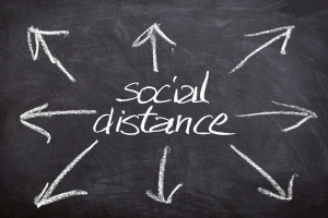 'Social distancing' becomes signature phrase of pandemic