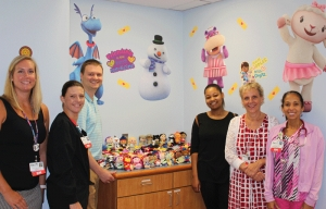 """Itty Bitty"" Donation to FirstHealth Provides 600 Toys for Children in the Area"