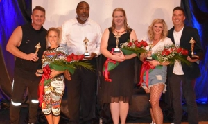 Winners: Robert Smith and Tarrah Billingsley (judge's choice); Dennis Quick and Mary Catherine Moree (RCH choice); Gabrielle Robinette Goodwin and Seth Allen (people's choice).