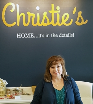 Christie Padgett, owner of Christie's Home, Garden, Gifts.