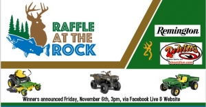 Richmond County Economic Development announces inaugural 'Raffle at the Rock'