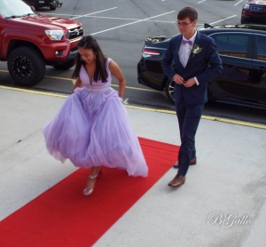 Richmond Senior Students walk the red carpet for a photo shoot at Saturday evening's prom parade. See more photos below the story.