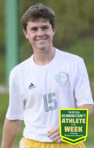Noah Jordan is the Official Richmond County Male Athlete of the Week.