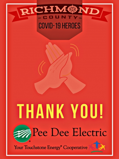 Richmond County COVID-19 Heroes: Pee Dee Electric serves as backbone to essential businesses