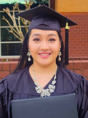 Richmond Community College graduate April Xiong is now attending the University of North Carolina-Pembroke to earn a Bachelor of Science in Nursing.