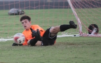 The Raider soccer team and sophomore goalkeeper Jaden Wilson hope to close the regular season with two more wins.
