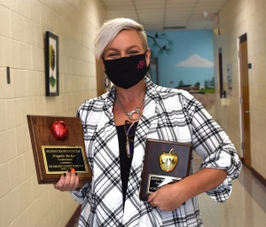 Angela Baker named Richmond County Schools' Beginning Teacher of the Year
