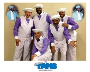 The Tams will perform in Cole Plaza on Thursday, closing out the 2018 Plaza Jam concert series.