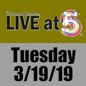 LIVE at 5 (Tuesday, 3/19/19)