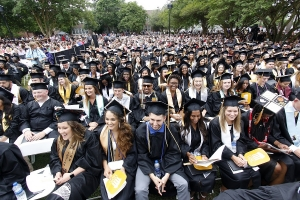 More than 700 degrees were passed out during UNC-Pembroke's Spring Commencement ceremony this past weekend.