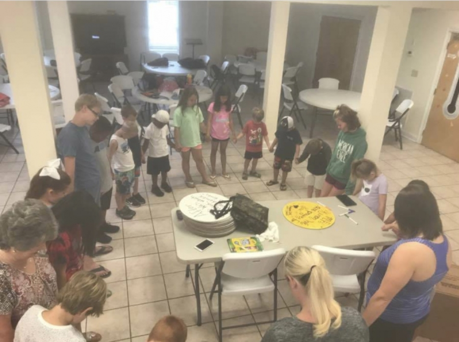"Freedom Baptist Youth, ""Buckets of Love"" Take Over the County"