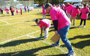 The RCSO held its fall Bocce Ball tournament at East Rockingham Park Wednesday.