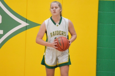 Sophomore Shelly Hoffman scored a game-high 26 points in Richmond's 74-42 win over Scotland Friday.