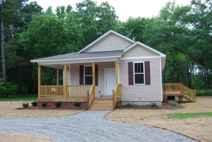 Habitat for Humanity of the N.C. Sandhills built this home on Greenlake Road for Nankeen Burch. It is one of the 15 homes the organization has built in Richmond County since 2005.