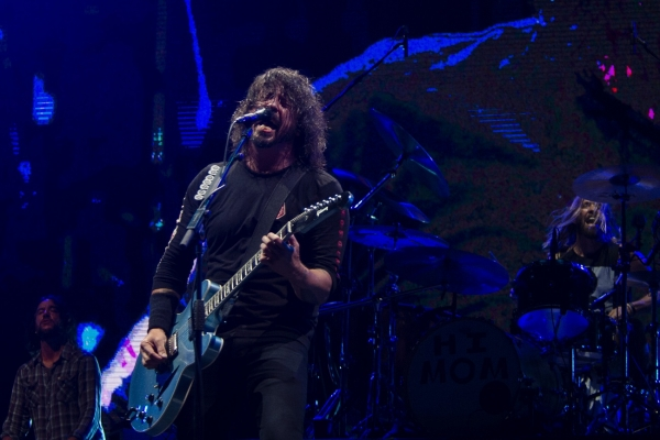 Foo Fighters performed several cover songs in whole or in part during their two-hour set Sunday night at Epicenter Festival.