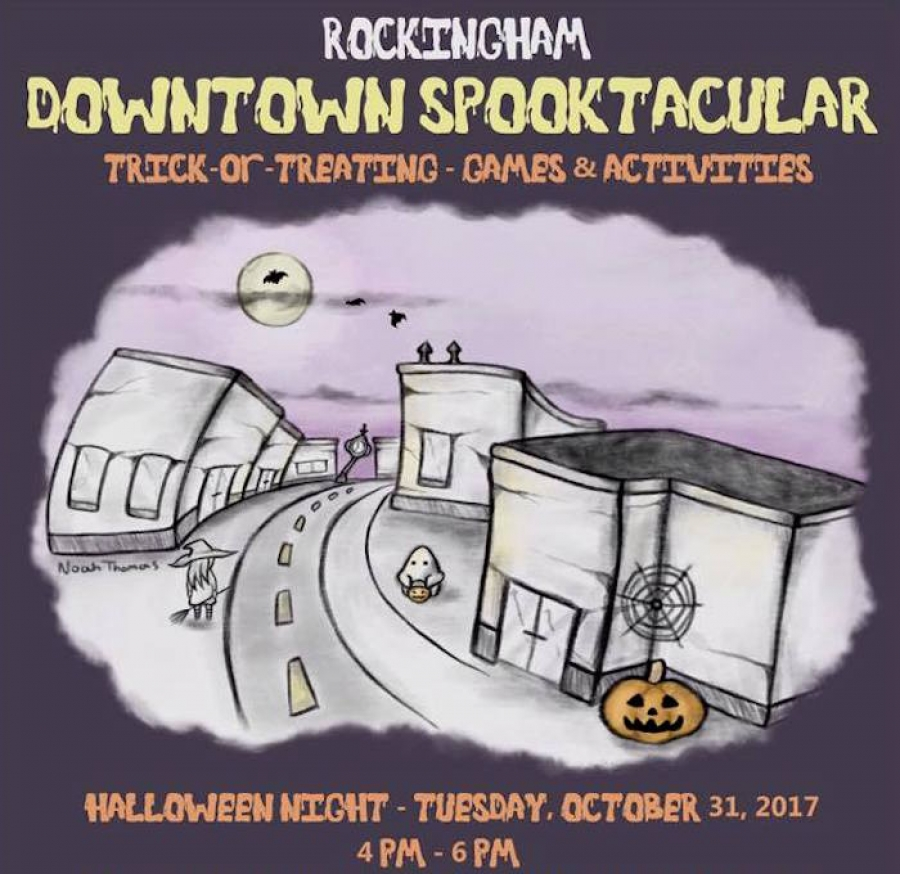 "City of Rockingham's Inaugural ""Spooktacular"" Trick-Or-Treat Night to Offer Safe, Authentic Experience"