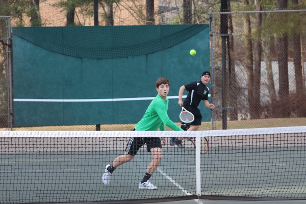 "The Raider tennis team showed a lot of ""individual growth"" in 2019 according to head coach Patrick Hope."