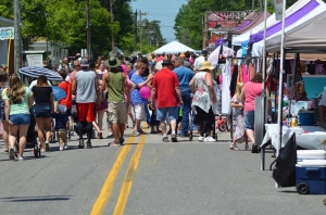 Organizers of the Ellerbe Strawberry Festival say about the same amount of people have come the past two years. See the RO's Facebook page for more photos and videos from the event.