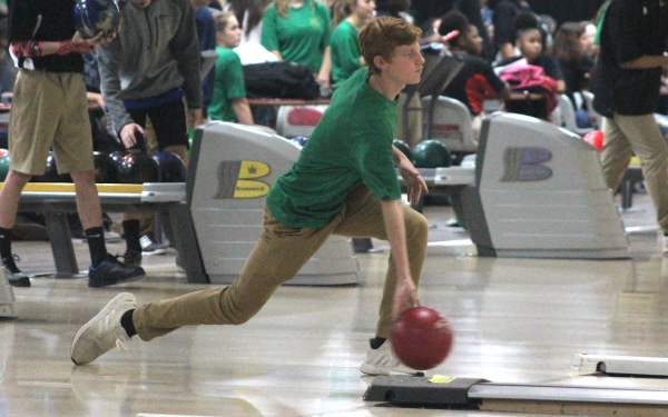 Junior Hunter Hancock is one of several returning male and female bowlers to this year's program.