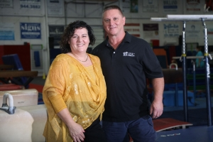 James and Jennifer Ayars of Carthage have expanded their gift to $50,000 - which will support a second scholarship. They are owners of Sandhills Gymnastics and Sandhills Creative Learning in Aberdeen.