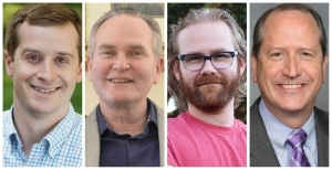 There are four candidates in Tuesday's special election for the 9th Congressional District. They are pictured as they appear on the ballot: Dan McCready, Democratic Party; Jeff Scott, Libertarian Party; Allen Smith, Green Party; Dan Bishop, Republican Party.