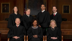 N.C. Supreme Court justices, Spring 2019.