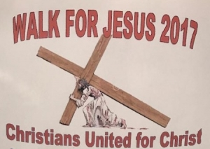 "A ""Walk for Jesus"" Set for Downtown Rockingham"