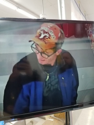 Investigators with the Hamlet Police Department say this man stole three packs of crab legs from Piggly Wiggly on Dec. 31.