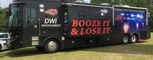 "There were fewer DWI arrests during this year's ""Booze It & Loose It"" campaign than the previous year."