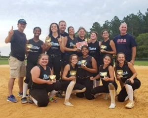 Last week, the Titans 14u team competed in the Summer Blast tournament in Fayetteville, where they went undefeated and outscored their opponents 20-4.