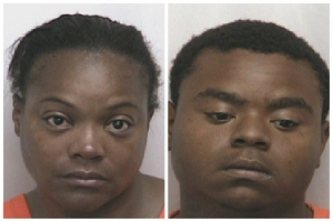 Michelle McRae, left, and Kenyada Spencer are facing meth trafficking charges.