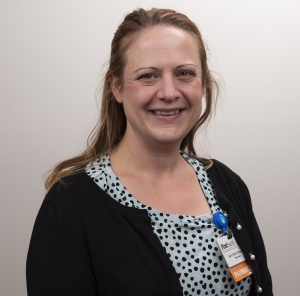 Heather Gibson, PharmD, antimicrobial stewardship pharmacist at Moore Regional Hospital