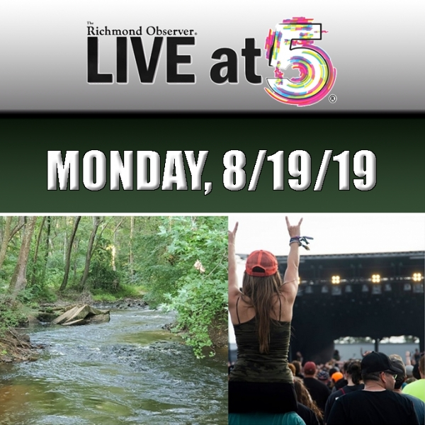 LIVE at 5 (Monday, 8/19/19)