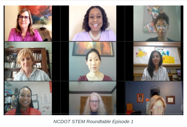 NCDOT Roundtable Series: Women in STEM