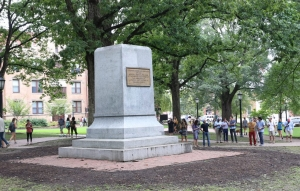 Silent Sam' was removed from his pedestal in August 2018 at the UNC-Chapel Hill campus.