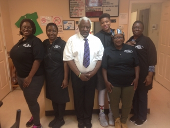 Founders and Staff of Divine Cafe in Dobbins Heights