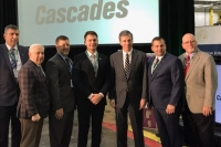 Gov. Roy Cooper was in Scotland County Tuesday to announce the expansion of the Cascades plant in Wagram.