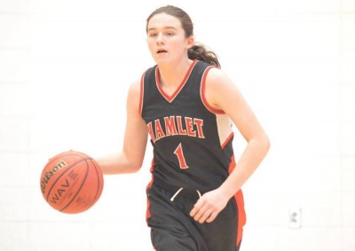 Ryelan Lyerly netted 13 points, the most for the Lady Red Rams, it Monday's win over Sandy Grove.