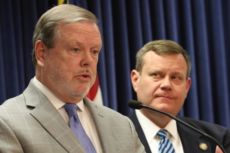 Senate leader Phil Berger, R-Rockingham, and House Speaker Tim Moore, R-Cleveland, filed a motion Jan. 14 in U.S. District Court for the Middle District of North Carolina to be admitted as intervenors to oppose the Voter ID lawsuit.